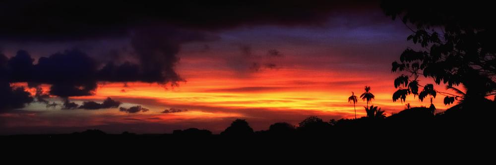 Sonnenuntergang auf der Insel Itamaracá - Foto: Wolfgang Besche ©